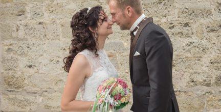 Kirchliche Trauung Christina und Sebastian in Schmechten